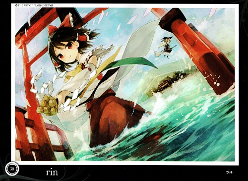 Rin (Mangaka), Touhou Project Tribute Arts - Fragment 4, Touhou, Reimu Hakurei, Marisa Kirisame