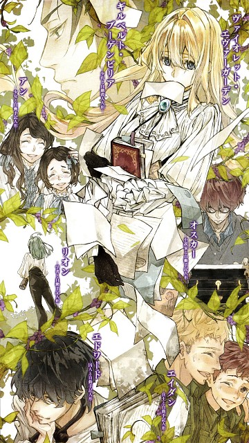 Akiko Takase, Kyoto Animation, Violet Evergarden, Oscar Webster, Ann Magnolia
