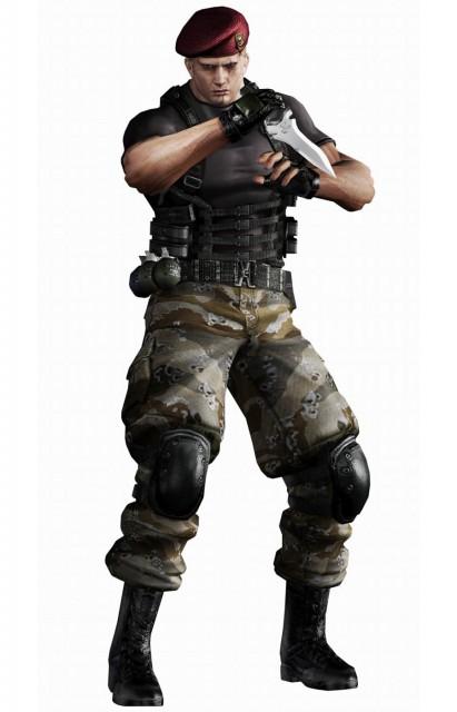 Capcom, Resident Evil 4, Jack Krauser