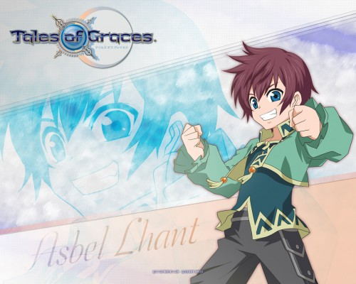 Mutsumi Inomata, Namco, Tales of Graces, Asbel Lhant, Official Wallpaper