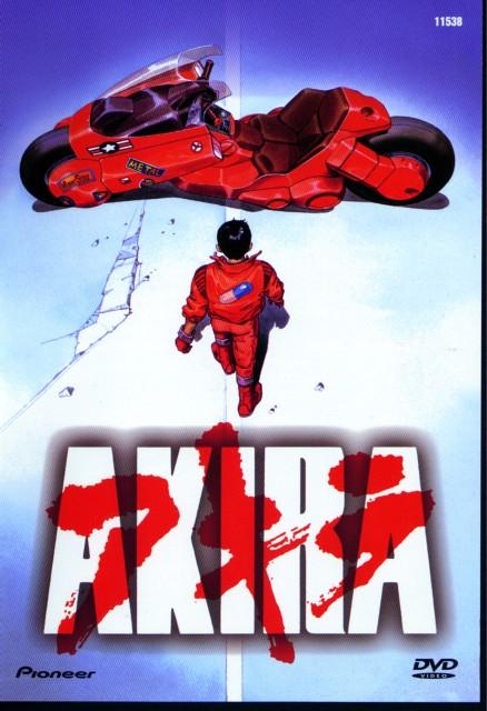 Katsuhiro Otomo, Akira, Shotaro Kaneda, DVD Cover