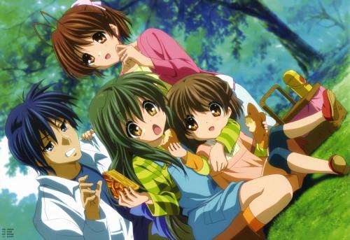 Kazumi Ikeda, Kyoto Animation, Clannad, Fuko Ibuki, Ushio Okazaki