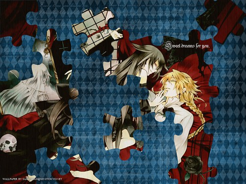 Jun Mochizuki, Xebec, Pandora Hearts, Jack Vessalius, Alice (Pandora Hearts) Wallpaper