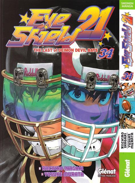 Eyeshield 21, Takeru Yamato, Shin Seijurou, Sena Kobayakawa, Manga Cover
