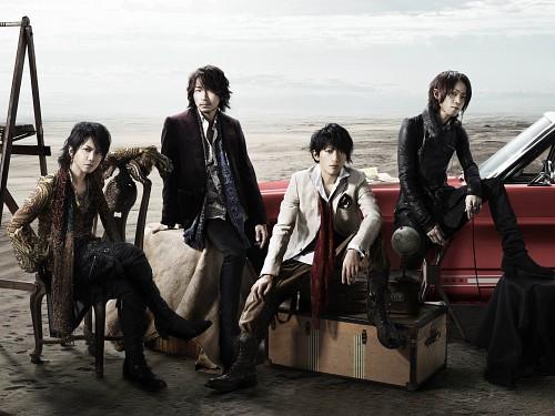 L'Arc~en~Ciel, Ken Kitamura, Yukihiro Awaji, Tetsuya Ogawa, Hyde (J-Pop Idol)