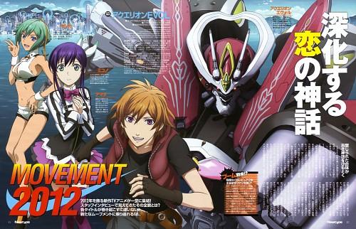 Kana Ishida, Marufuji Hirotaka, Satelight, Aquarion EVOL, Zessica Wong