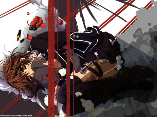 Matsuri Hino, Studio DEEN, Vampire Knight, Yuuki Cross Wallpaper