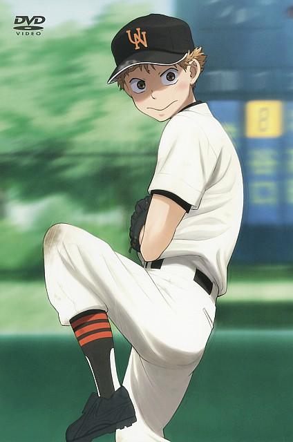 Asa Higuchi, A-1 Pictures, Ookiku Furikabutte, Ren Mihashi, DVD Cover