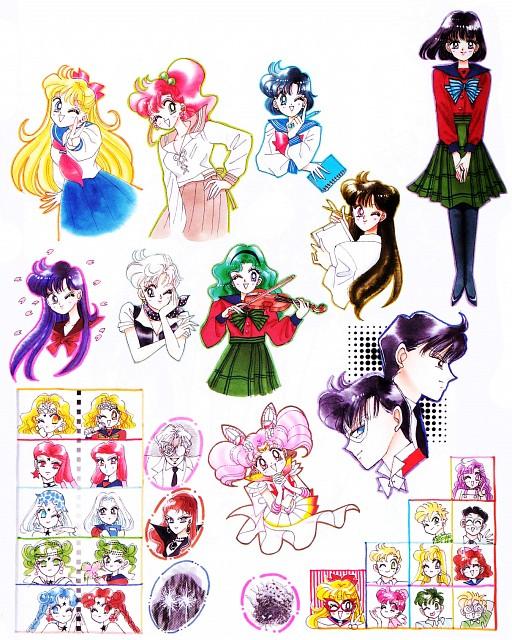 Naoko Takeuchi, Bishoujo Senshi Sailor Moon, Mimete, Professor Tomoe, Master Pharaoh 90