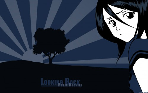 Kubo Tite, Studio Pierrot, Bleach, Rukia Kuchiki, Vector Art Wallpaper