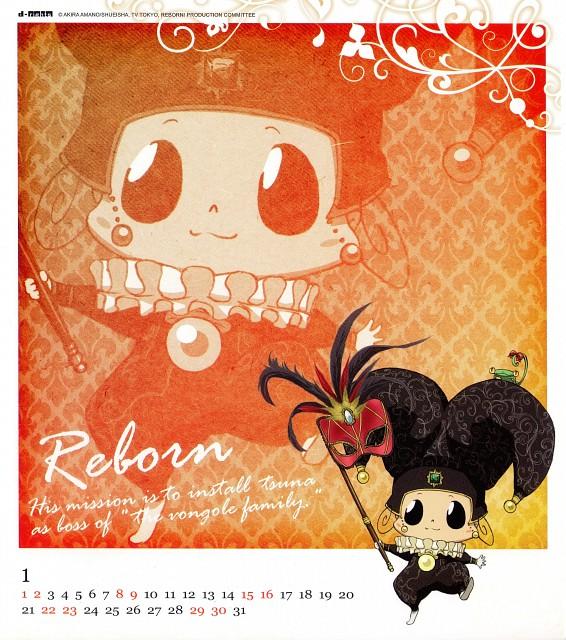 Akira Amano, Artland, Katekyo Hitman Reborn!, Reborn (Character), Leon (Katekyo Hitman Reborn!)