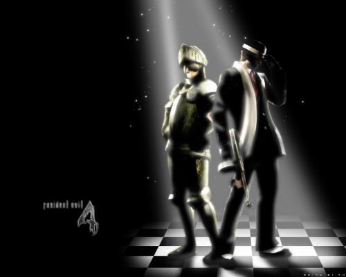 Capcom, Resident Evil 4, Ashley Graham, Leon S. Kennedy Wallpaper