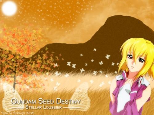 Sunrise (Studio), Mobile Suit Gundam SEED Destiny, Stellar Loussier Wallpaper