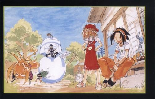 Hiroyuki Takei, Xebec, Shaman King, Amidamaru, Yoh Asakura