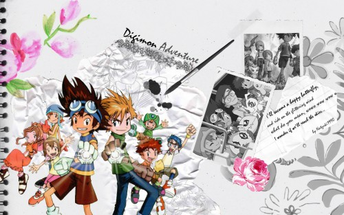 Toei Animation, Digimon Adventure, Taichi Yagami, Takeru Takaishi, Jou Kido Wallpaper