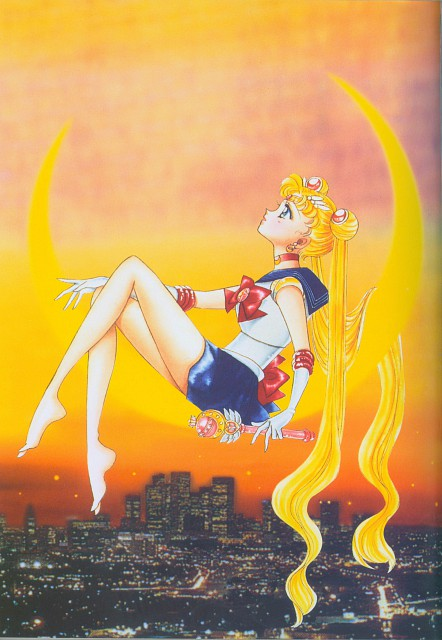 Naoko Takeuchi, Bishoujo Senshi Sailor Moon, BSSM Original Picture Collection Vol. II, Sailor Moon