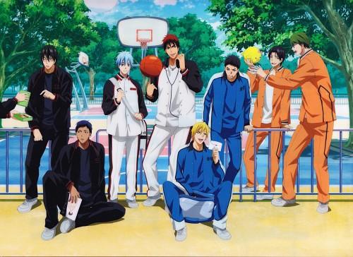 Tadatoshi Fujimaki, Production I.G, Kuroko no Basket, Yukio Kasamatsu, Taiga Kagami