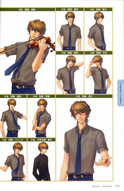 Yuki Kure, Koei, Kiniro no Corda 3, Daichi Sakaki, Character Sheet