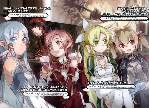 Abec, Sword Art Online, Leafa, Yui (Sword Art Online), Asuna Yuuki