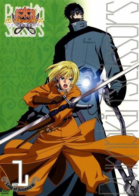 Gonzo, Pumpkin Scissors, Alice L. Malvin, Randel Oland, DVD Cover