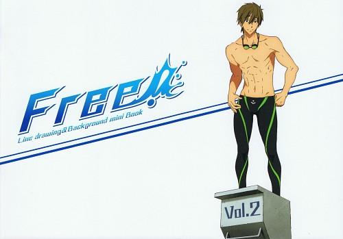 Hiroshi Karata, Kyoto Animation, Free!, Makoto Tachibana, DVD Cover