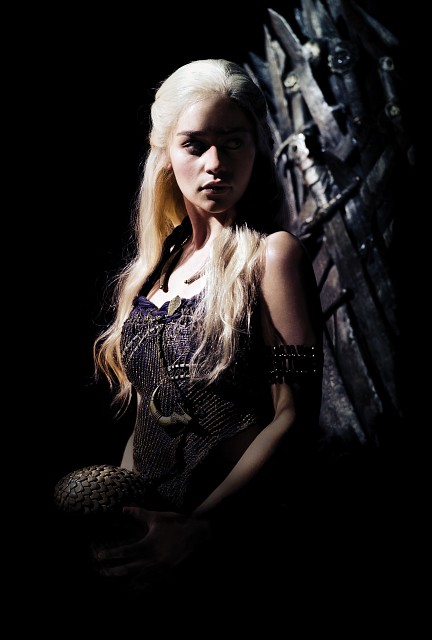 Game of Thrones, Daenerys Targaryen, Pin-up Poster