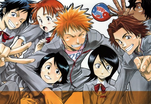 Kubo Tite, Bleach, All Colour But The Black, Orihime Inoue, Keigo Asano