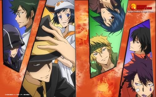 Akira Amano, Katekyo Hitman Reborn!, Reborn (Character), Fon, Mammon (Katekyo Hitman Reborn!)