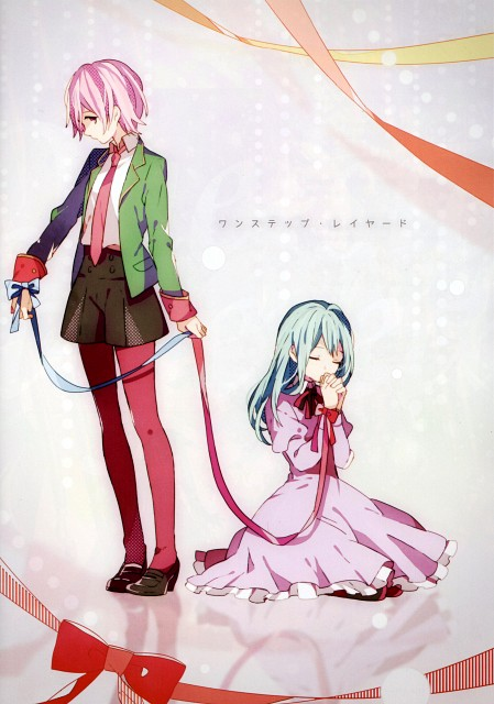 Tamak0, First Trip - Visual Note, Vocaloid, Miku Hatsune, Luka Megurine
