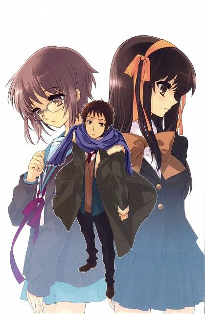 Noizi Ito, Kyoto Animation, The Melancholy of Suzumiya Haruhi, Yuki Nagato, Haruhi Suzumiya