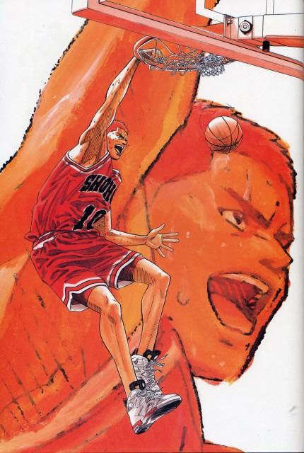 Takehiko Inoue, Slam Dunk, Inoue Takehiko Illustrations, Hanamichi Sakuragi