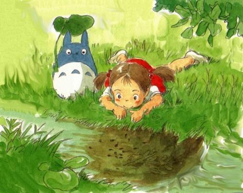 Studio Ghibli, My Neighbor Totoro, The Art of My Neighbor Totoro, Mei Kusakabe