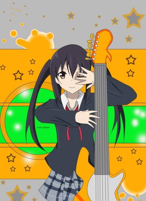 K-On!, Azusa Nakano, Member Art