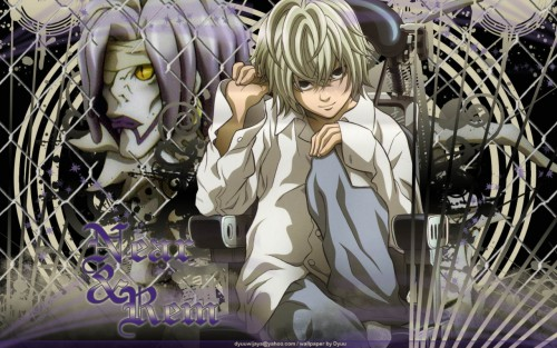 Takeshi Obata, Madhouse, Death Note, Near, Rem Wallpaper