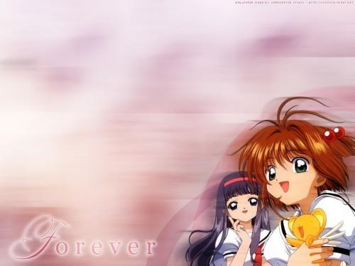 CLAMP, Madhouse, Cardcaptor Sakura, Tomoyo Daidouji, Keroberos Wallpaper