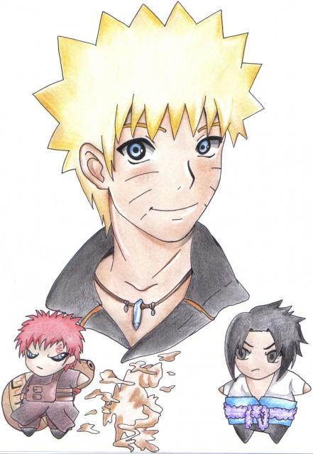 Naruto, Gaara, Sasuke Uchiha, Naruto Uzumaki, Member Art