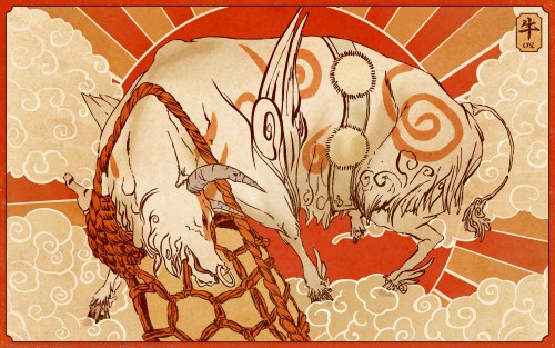 Capcom, Okami Wallpaper