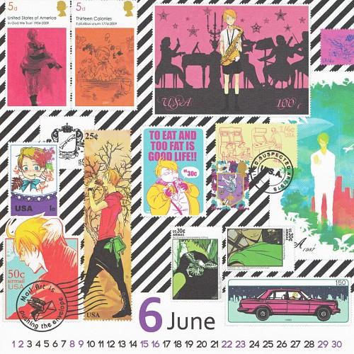 Gusari, Hetalia: Axis Powers, Hetalia Shishou Calendar 2013-2014, America, Calendar