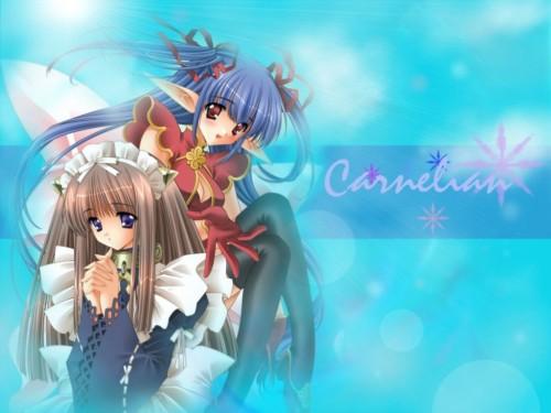 Carnelian, Fairy Factory, Seika (Fairy Factory), Touka (Fairy Factory) Wallpaper