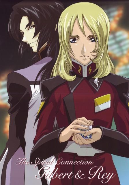 Sunrise (Studio), Mobile Suit Gundam SEED Destiny, Gilbert Durandal, Rey Za Burrel