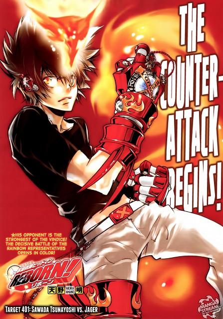 Akira Amano, Katekyo Hitman Reborn!, Tsunayoshi Sawada, Magazine Page, Shonen Jump