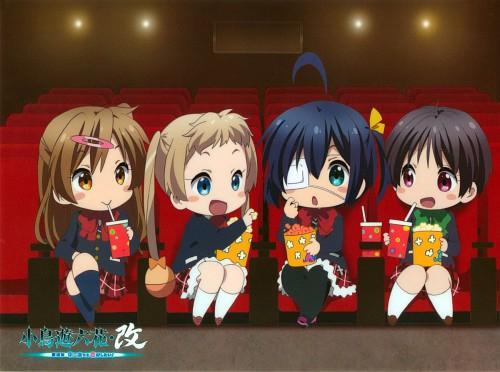 Nozomi Ousaka, Kyoto Animation, Chuunibyou demo Koi ga Shitai!, Sanae Dekomori, Kumin Tsuyuri