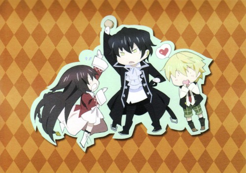 Pandora Hearts, Oz Vessalius, Gilbert Nightray, Alice