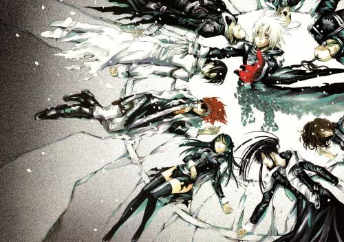 Katsura Hoshino, D Gray-Man, Noche - D.Gray-man Illustrations, Yu Kanda, Noise Marie