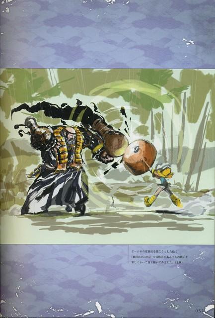 Makoto Tsuchibayashi, Capcom, Design Works, Sengoku Basara, Xavi