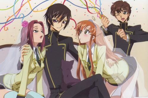 Takahiro Kimura, Sunrise (Studio), Lelouch of the Rebellion, Suzaku Kururugi, Shirley Fenette