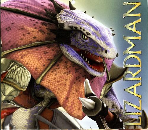 Namco, Soul Calibur, Lizardman