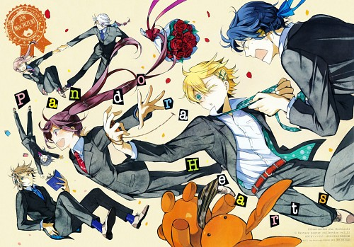 Jun Mochizuki, Xebec, Pandora Hearts, Sharon Rainsworth, Xerxes Break
