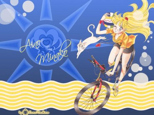 Naoko Takeuchi, Bishoujo Senshi Sailor Moon, Artemis, Minako Aino Wallpaper