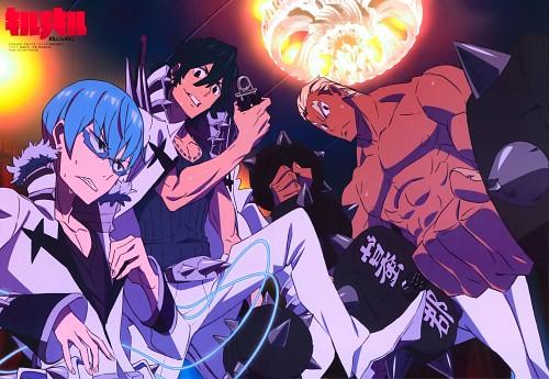 Trigger (Studio), Kill la Kill, Ira Gamagori, Uzu Sanageyama, Hoka Inumuta